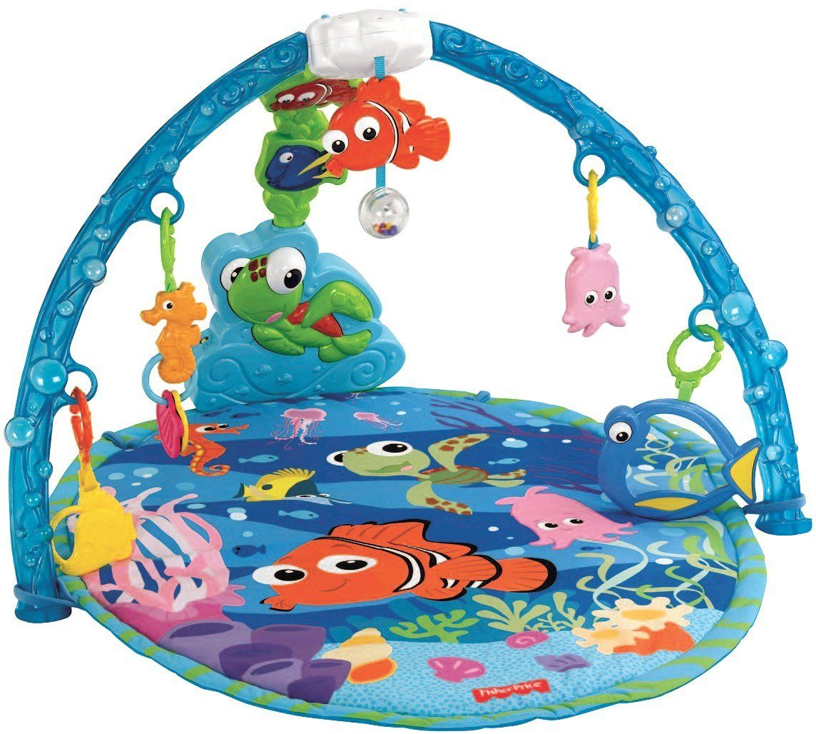 Crib gym for babies - Finding Nemo Baby Gym By Fisher Price