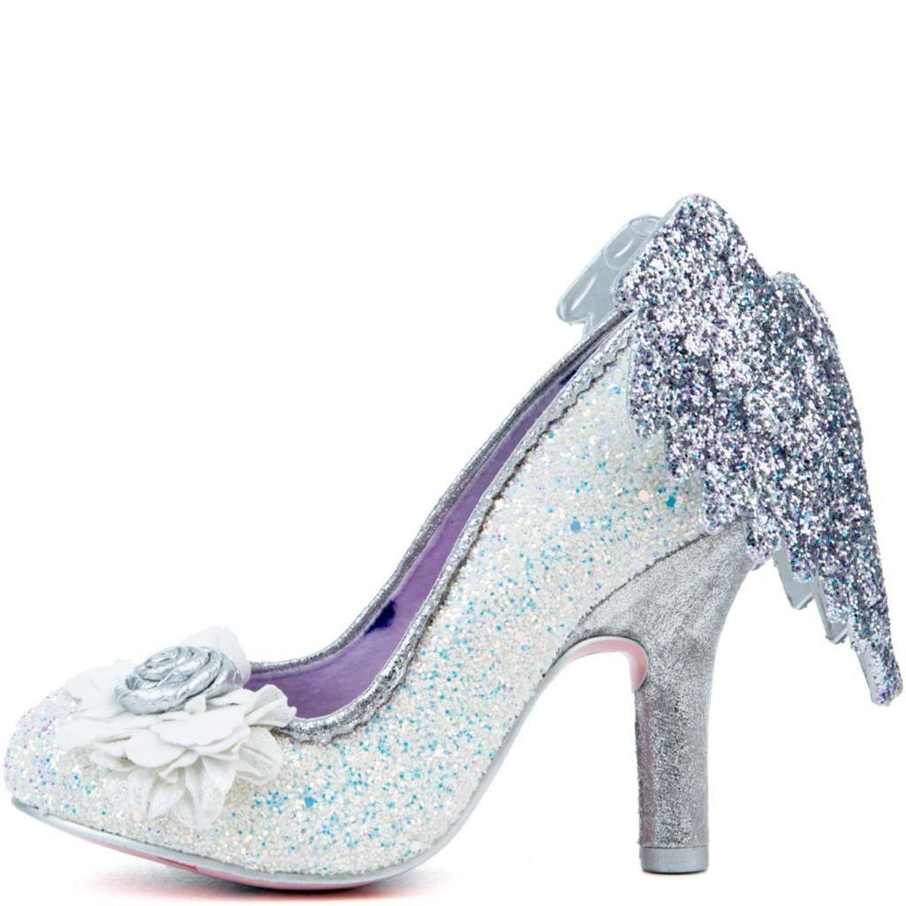 Irregular Choice White Knight, Schuhe, Absatzschuhe, Stilettos, Blau, Female, 37