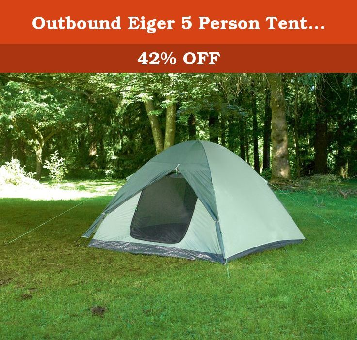 The Eiger series of tents from Outbound come in either 3 4 or 5 person dimensions. These economy priced starter tents still offer great performance ... & Outbound Eiger 5 Person Tent (Green Small). The Eiger series of ...