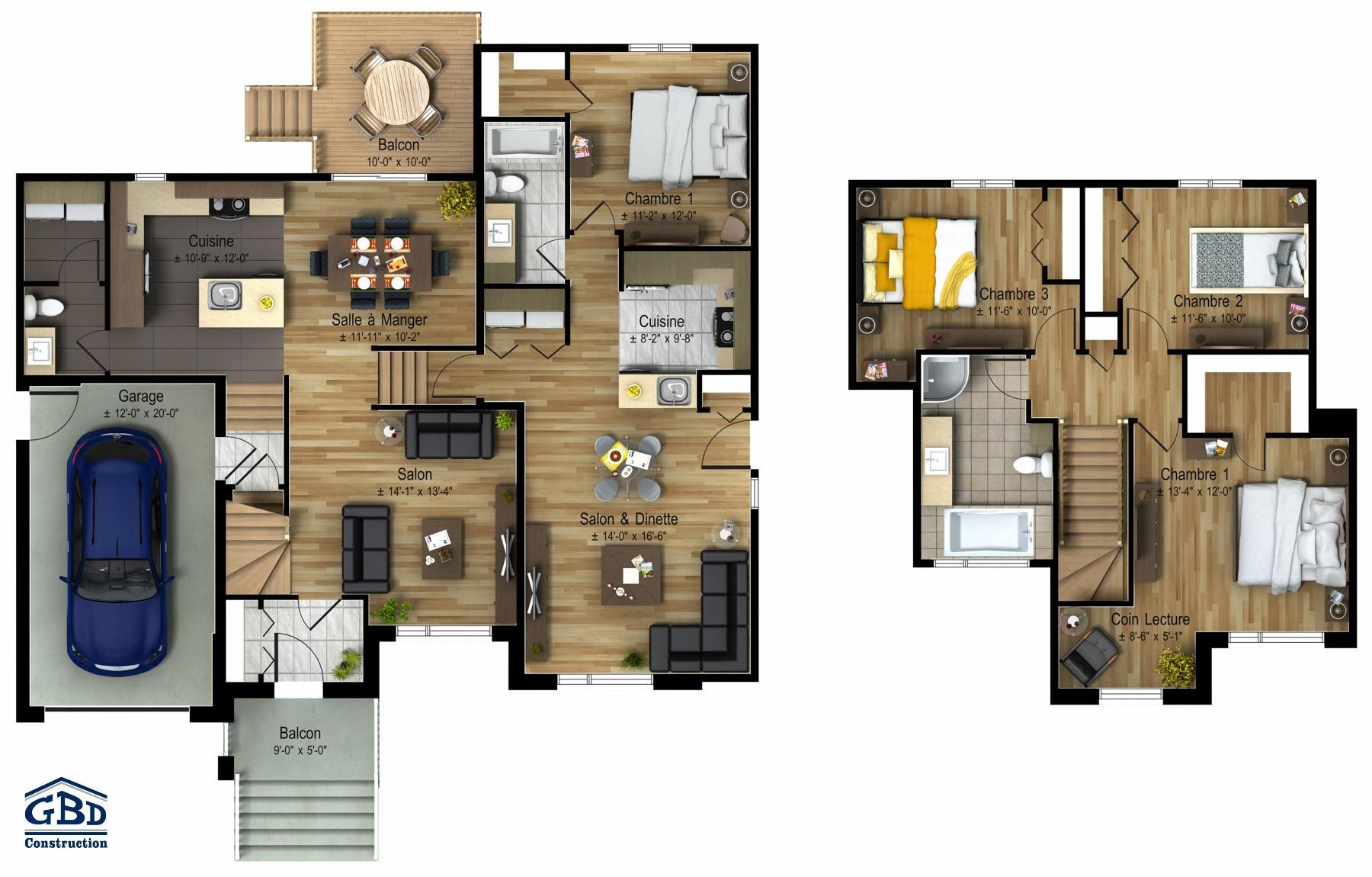 Nice Plan Maison Intergeneration Cote A Cote that you must know, You're in good company if you ...
