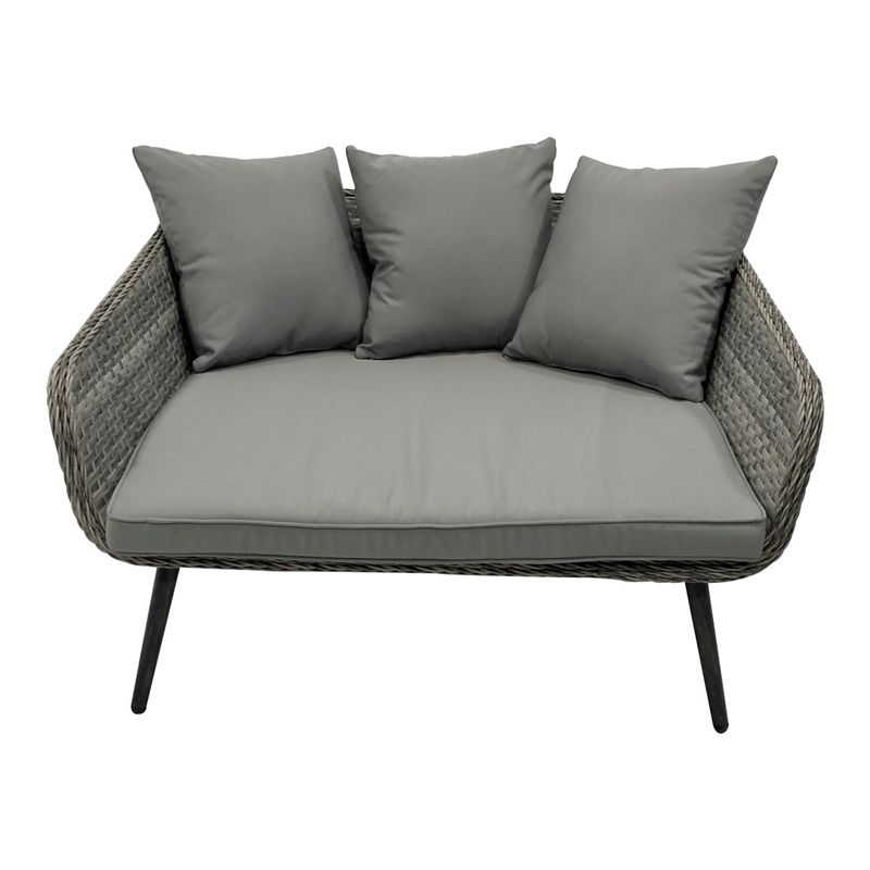 Rattan Cuddle Seat At Homebase Co Uk