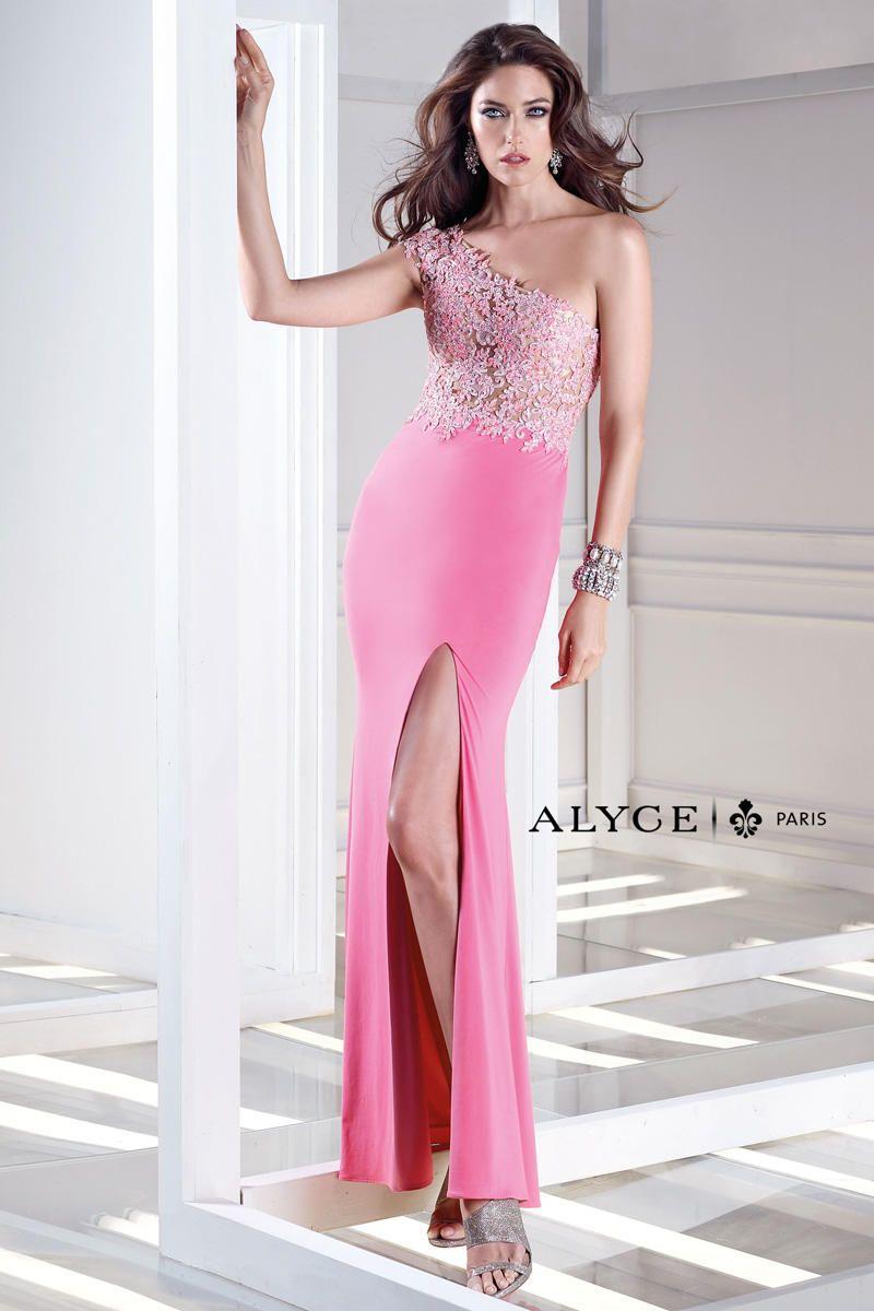Increíble Vestido De Fiesta Alyce Paris Imágenes - Colección de ...