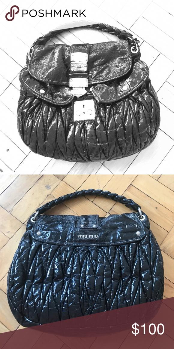 fb911ff940f5 Miu miu handbag Large