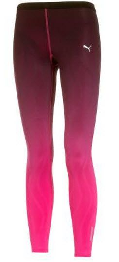 20993e30323d Fashion Running Tights of The Week - Puma RCVR Power Fitness Tights in  beetroot and purple shade £80