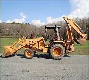 Case 580d 580sd Super D Ck Tractor Loader Backhoe Forklift Operators Manual Tractors Backhoe Backhoe Loader