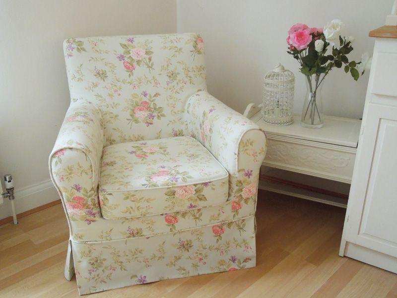 DIY Slipcover For IKEA Armchair.