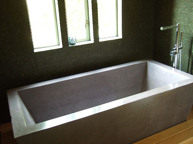 Concrete Bathtub Concrete Bathtub Diy Bathtub Loft Bathroom