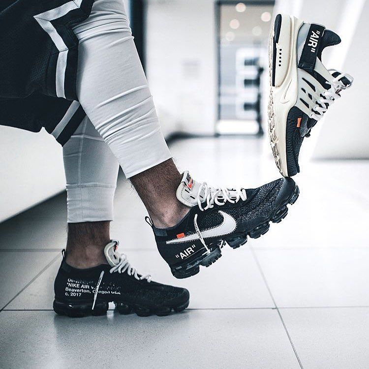 Battle Time Nike X Off White Vapormax Vs Presto Which One Would You Choose By Ezcape Sneakersmag Sneakers Fashion Sneakers Men Fashion Sneakers Nike