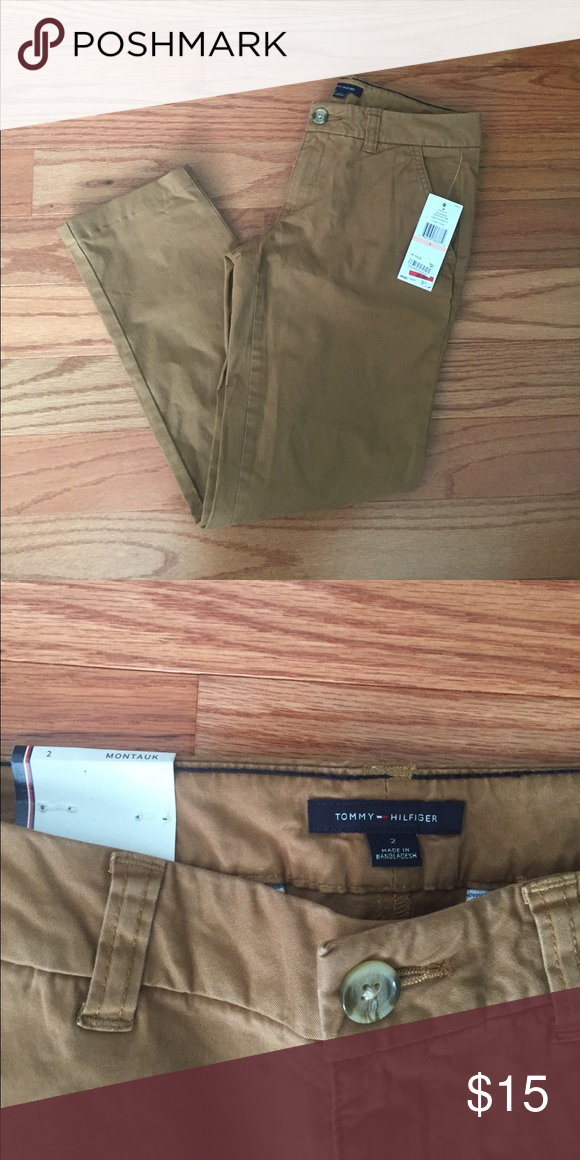 NWT Tommy Hilfiger Montauk Khakis Brand new, Tommy Hilfiger montauk khaki pants. In perfect condition! Great for work or play! Tommy Hilfiger Pants Straight Leg