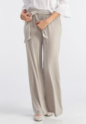 6cee4d089d7 Cato Fashions Belted Palazzo Pants  CatoFashions
