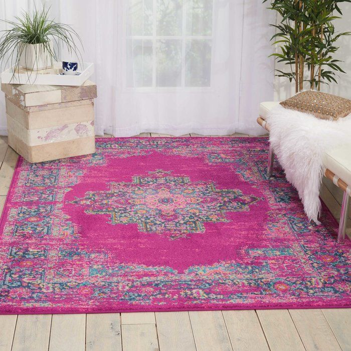 Dorset Ivory/Fuchsia Indoor Area Rug | Living rooms, Bedrooms and Room