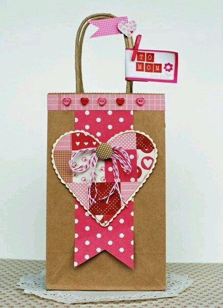 622be961e bolsitas de papel San Valentin | San valentín