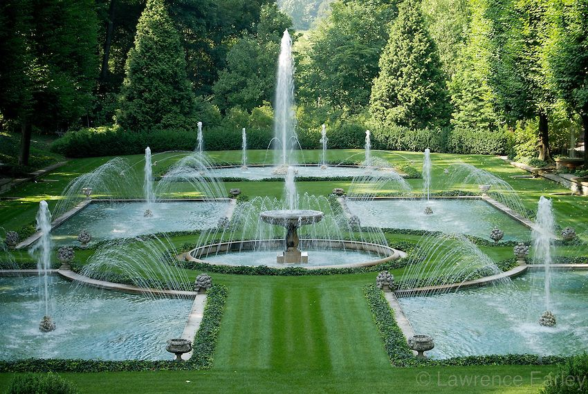Longwood Gardens, Square, Pennsylvania Water