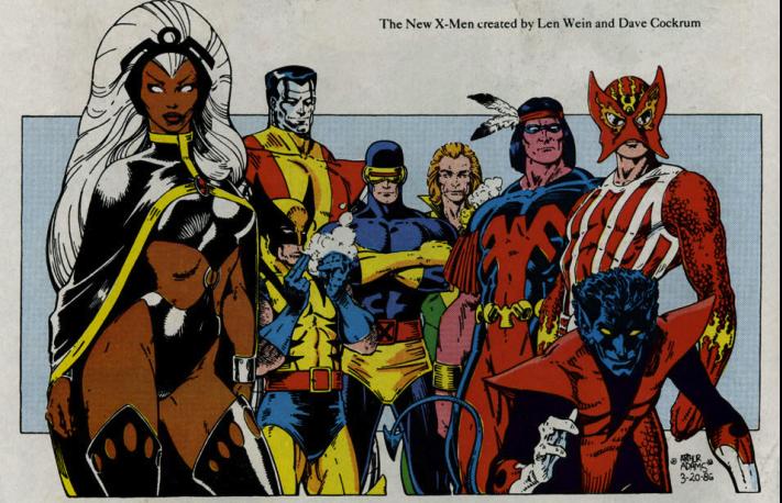 New Xmen Giant Size X Men 1 Classic Giant Size X Men Team X Men Marvel Superheroes Comics