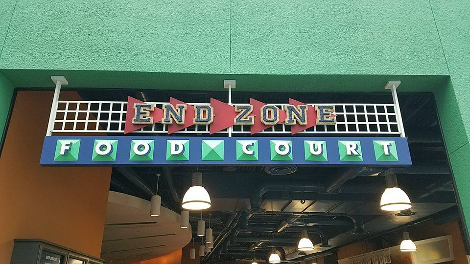 End Zone Food Court at Disney's AllStar Sports Resort