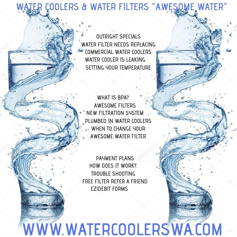 outright specials, water filter needs replacing, commercial
