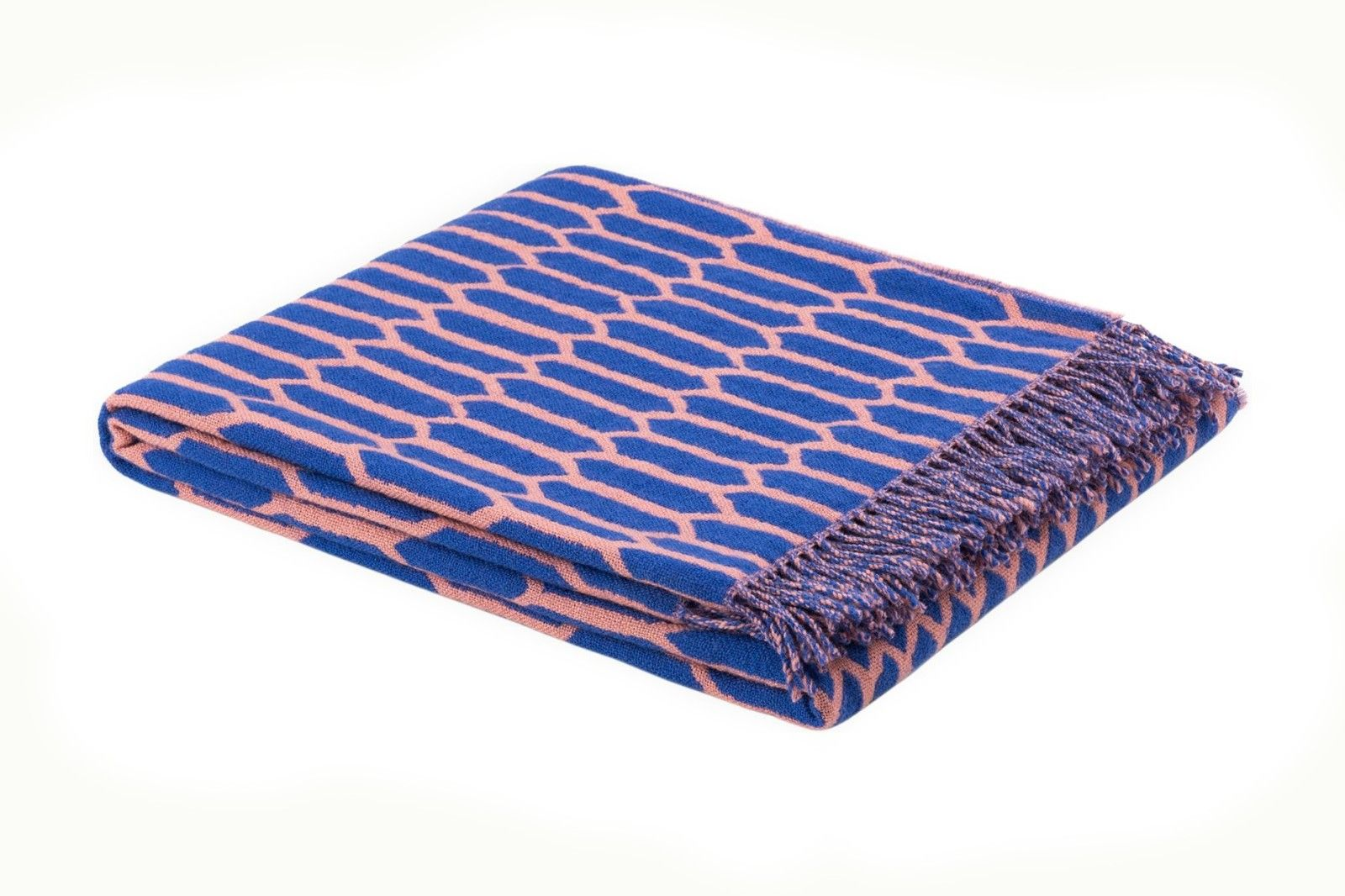 Scribble Throw Kenno Pink Blue Hand Sketch Throw Pillows Blankets Throws