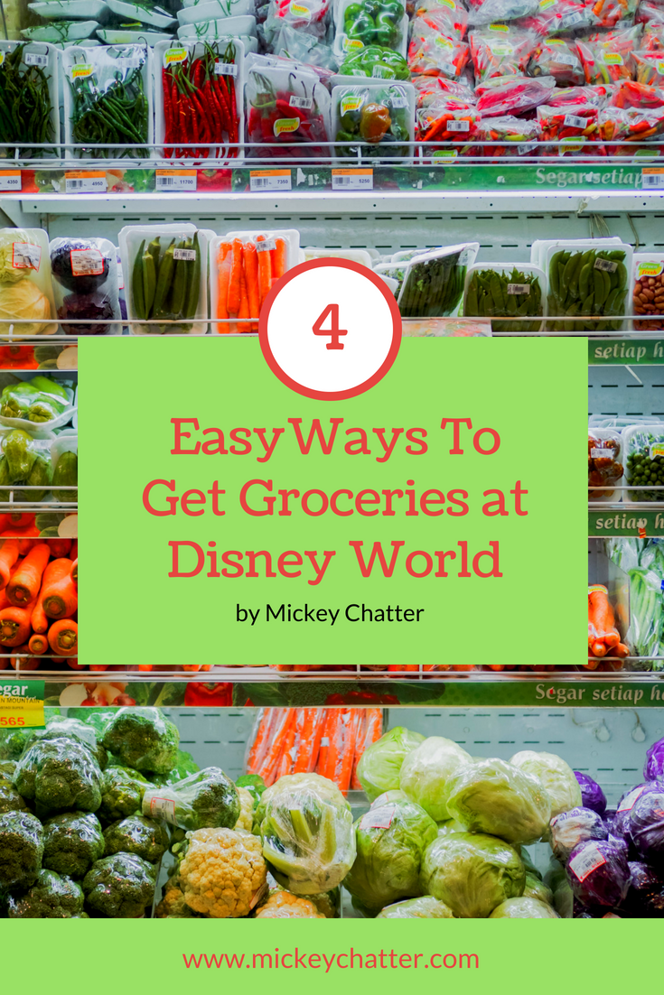All the Options for Disney World Grocery Delivery To Your Hotel