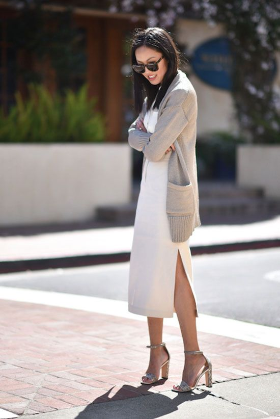 251665830 spring outfit, summer outfit, casual outfit, work outfit, spring fashion,  summer fashion, street style, street chic style - metallic beige long  cardigan, ...