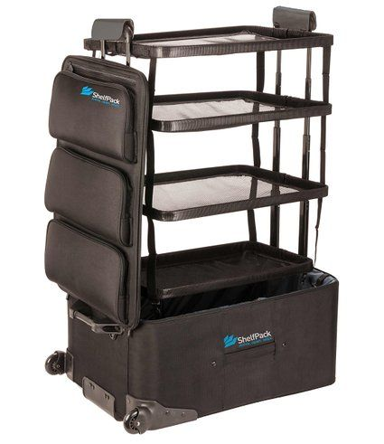 Shelfpack Revolutionary Suitcase With Built In Shelves