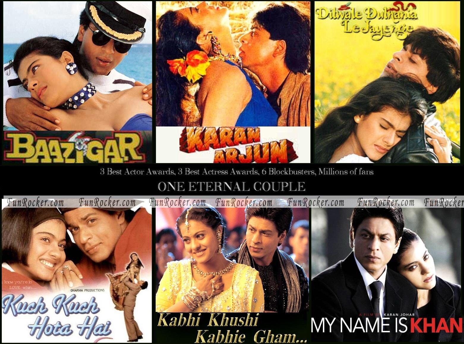 Shahrukh khan kajol movies