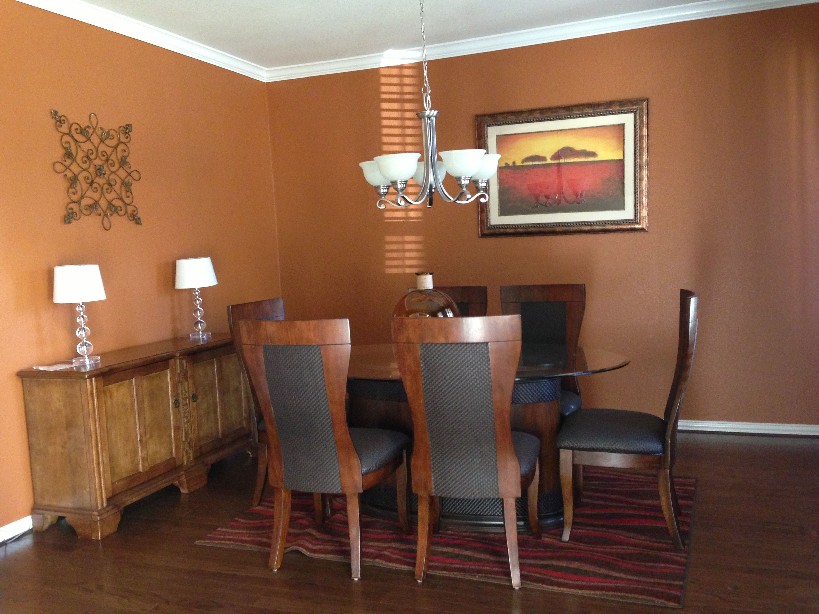 dining room makeover using sherwin williams brandy wine on sherwin williams dining room colors id=51175