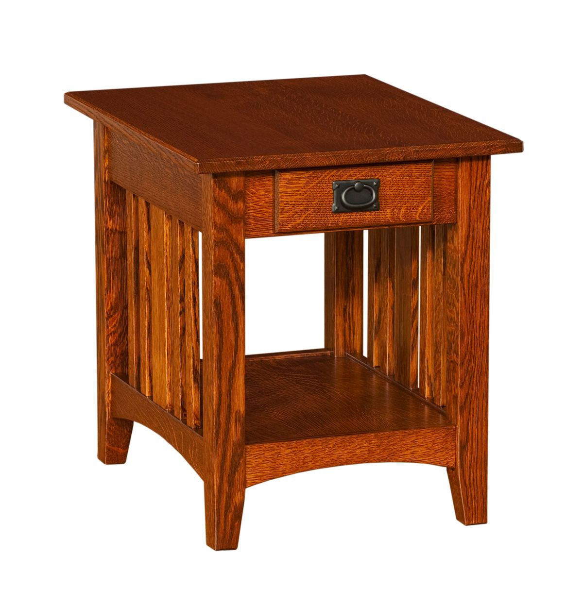 cherry end tables. Small Cherry End Table: Mission Table Tables