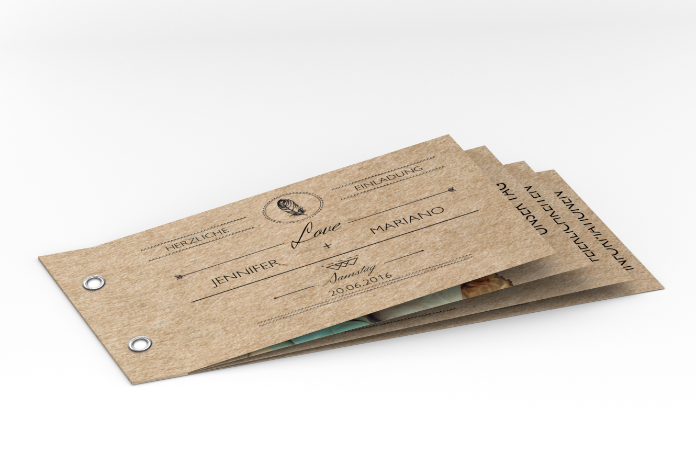 Produktübersicht und varianten zu booklet hochzeitseinladung colorado karte hochzeit einladungskarten