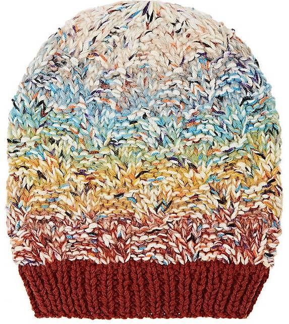 4c0c27e876e9d0 Missoni Women's Mixed-Stitch Wool-Blend Hat Barneys New York, Rib Knit,