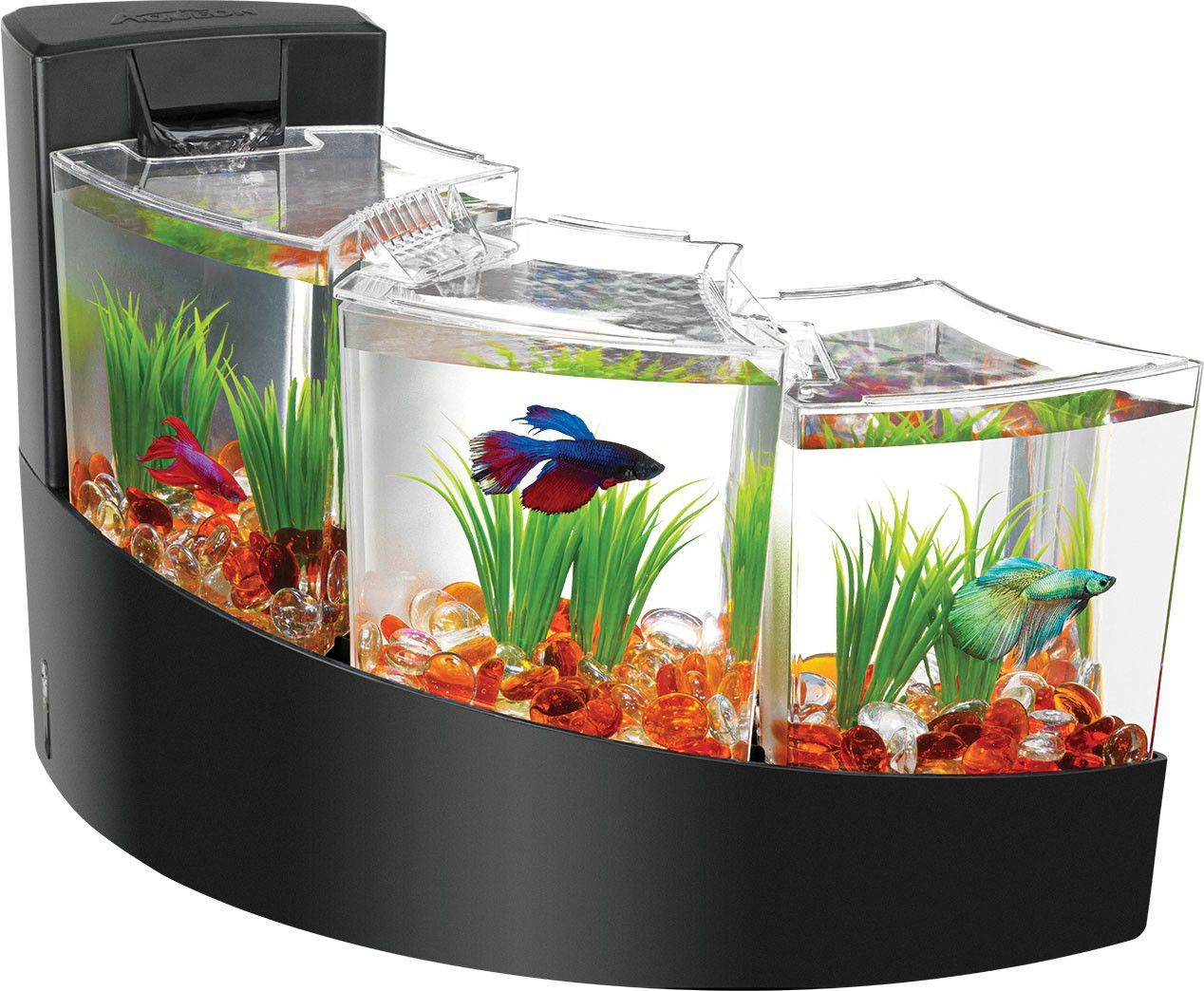 Décoration Aquarium Pour Combattant Aqueon Betta Falls Kit Bettas Pinterest Betta