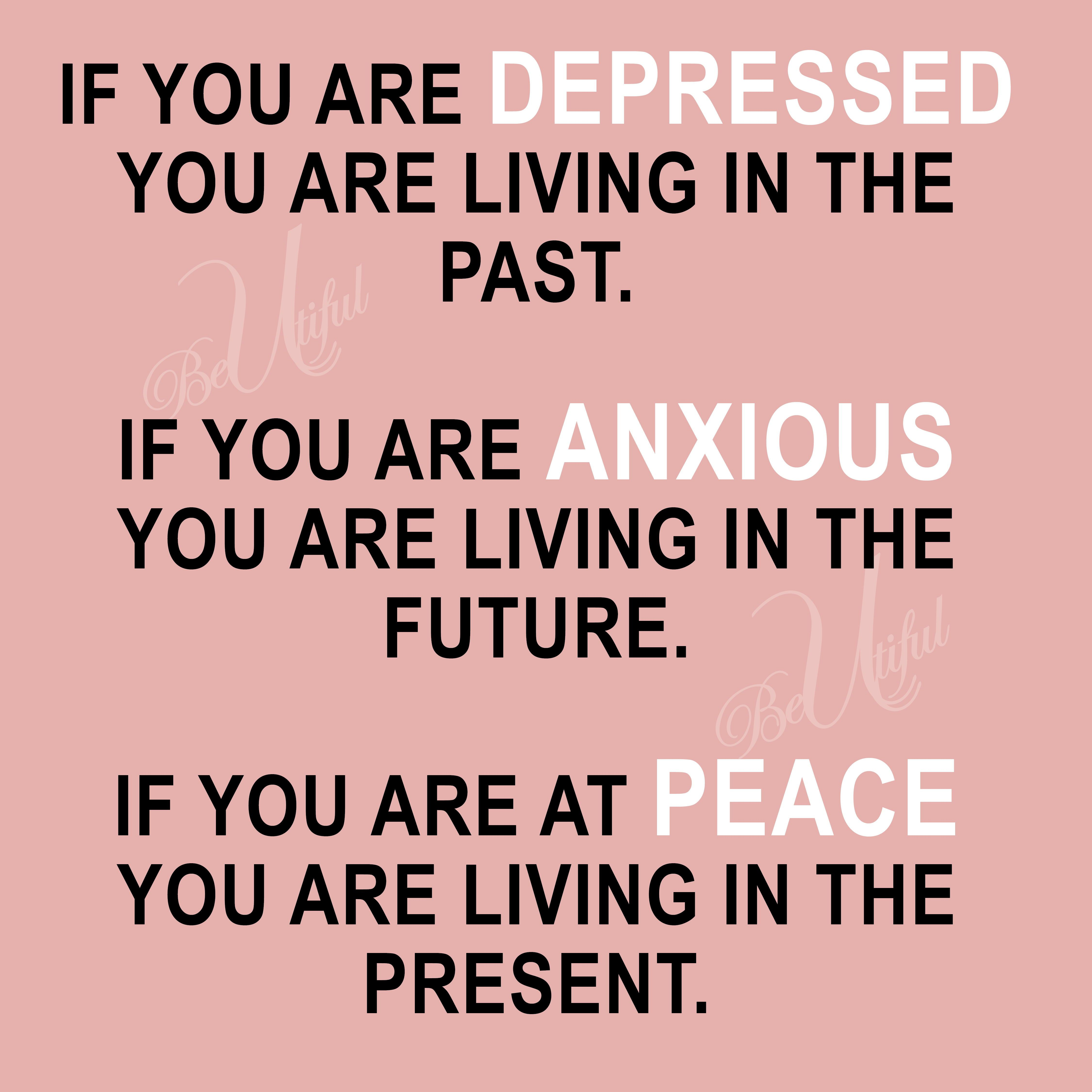 Live In The Present And Be At Peace Beutifulyesu Be Present