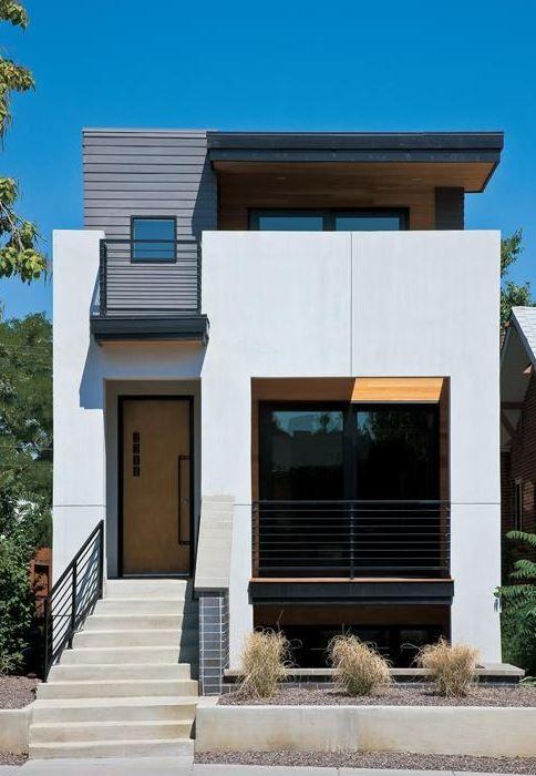 imagenes de fachadas de casas sencillas de 4x4 loft