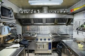 small commercial kitchen~ Myself and Four to Six other Workers- Get it Done,