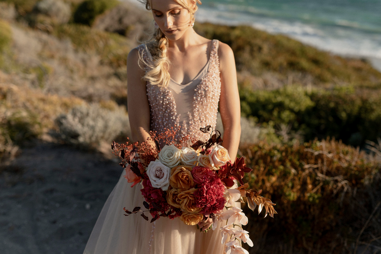 Olive Ivy Styling And Hire Styled Shoot Luxe Beach Elopement