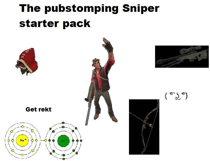 The Pubstomping Sniper Starter Pack Games Teamfortress2 Steam