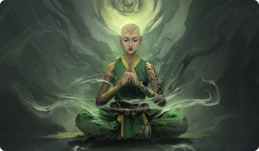 L5R Play Mat Togashi Kazue Vuong Le Legend of the Five Rings LCG CCG