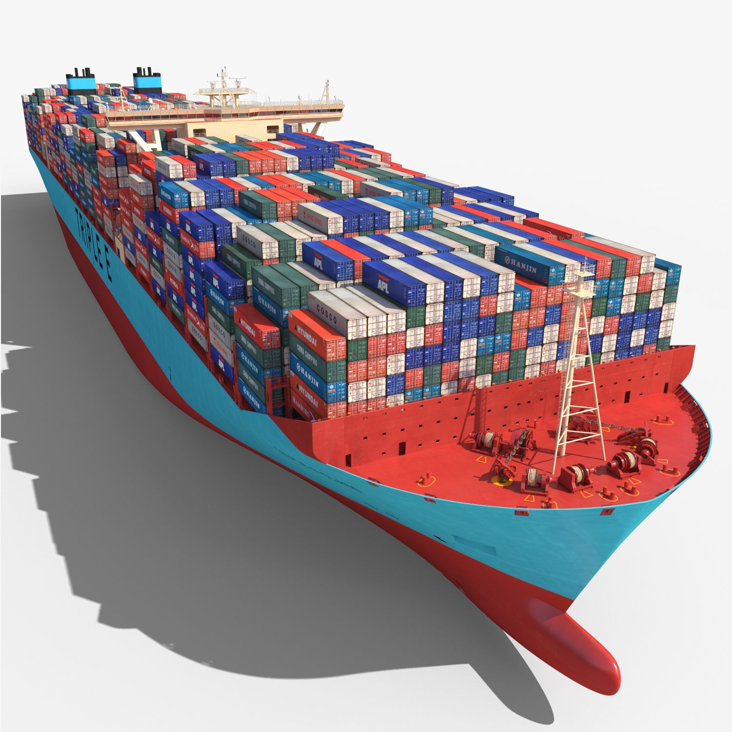 3ds Max Triple E Class Container Ship Https Static Turbosquid Com Preview 2015 06 06 19 38 10 V1247 Jpgaedb2a43 2359 467e 8139 0c3 In 2020 3ds Max Model Boats Ship