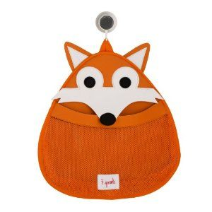 Amazon.com: 3 Sprouts Bath Toy Storage Bag, Orange Fox: Toys & Games