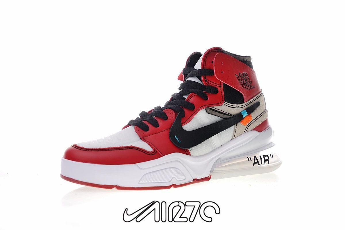 Custom Nike Air Force 270 X Off White Jordan 1 Hybrid Nike Air