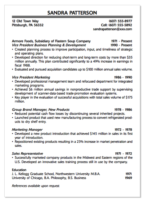 Example Of Group Band Manager Resume Examples Resume Cv