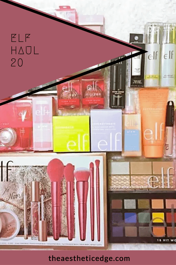 elf Haul 20 Reviews & Swatches The Aesthetic Edge in