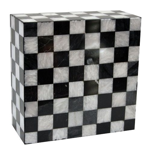Elegance White Gloss Marble Effect Ceramic Floor Tile: The Knight Marble Cremation Urn Is Made Of Natural Marble