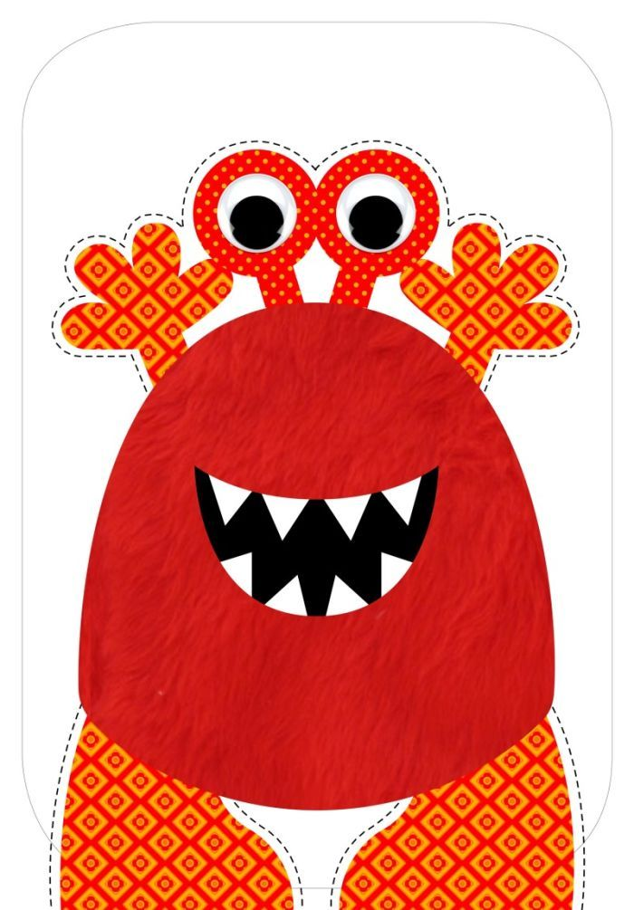 ○•°‿✿⁀Monsters‿✿⁀°•○ ~~Paula Doherty | Manualidades | Pinterest ...