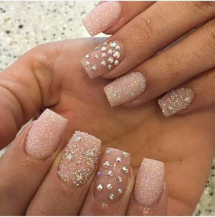 Pin by Valerie Okeefe on fancy nails rhinestones | Pinterest ...