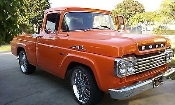 1959 Ford F 150 1959 Ford F150 Shortbed Truck V8 351 Engine