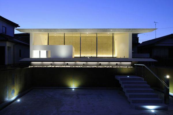 Japanese Beach House Design Contemporary Concrete