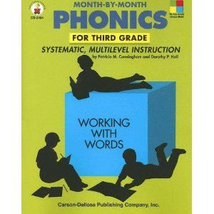 Month By Month Phonics For Third Grade Systematic Multilevel