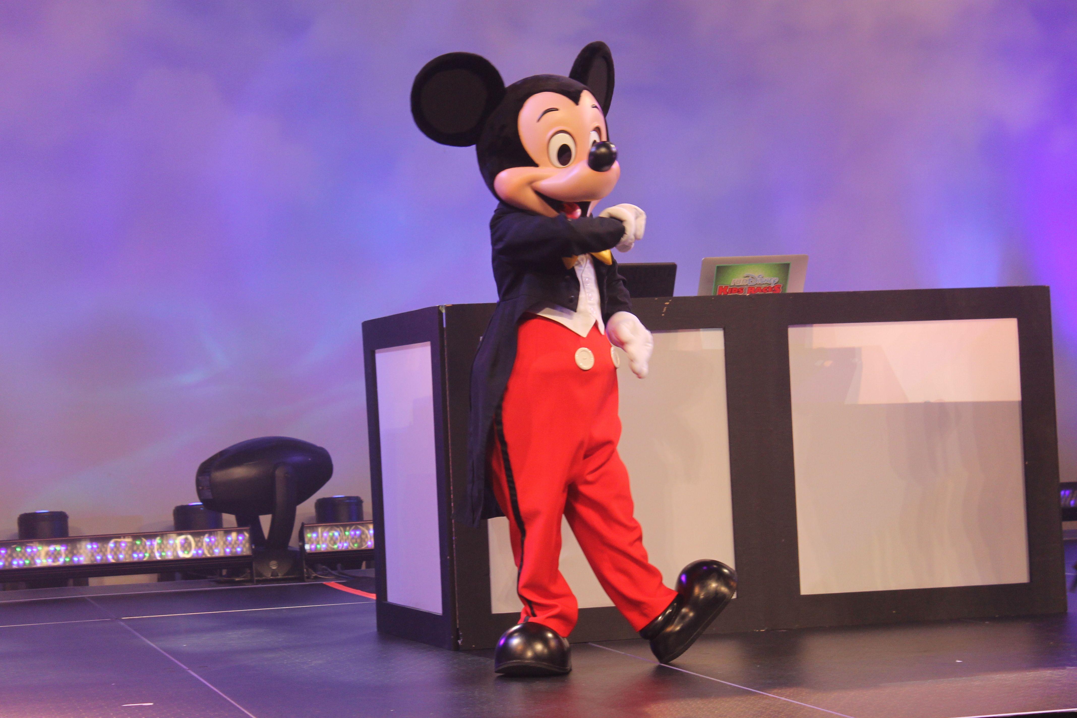 Mickey MOuse at Huddle