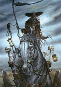 Le Char De L Ankou De Didier Graffet Legende Bretonne Creature Mythologique Creatures Mythiques