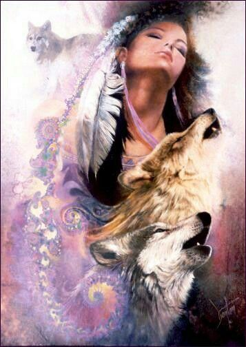 Pin By Pania Collier On Wolf Art Native American Wolf Native